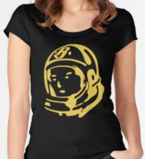 BBC - logo Women's Fitted Scoop T-Shirt