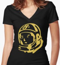 BBC - logo Women's Fitted V-Neck T-Shirt