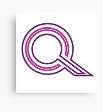 WipEout Pulse Style QIREX Logo Canvas Print