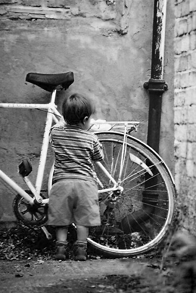 Boy Bike by moseszap