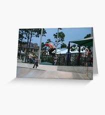 Catching Air Greeting Card