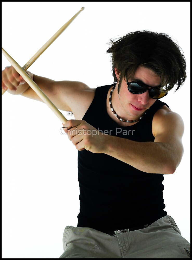 Drummer by Christopher Parr