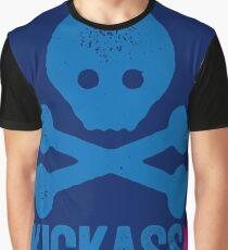 KICKASS - SKULL AND CROSSBONES GRAPHIC Graphic T-Shirt