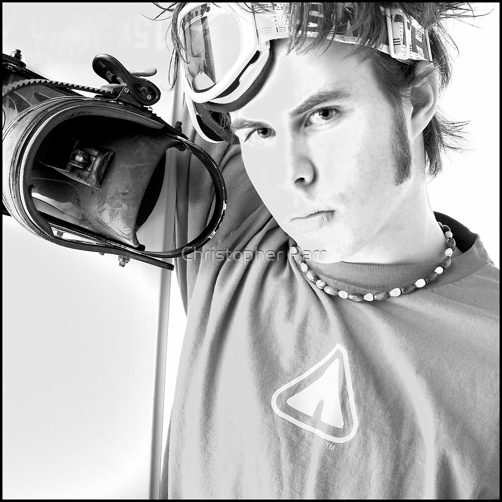 Snowboarder by Christopher Parr