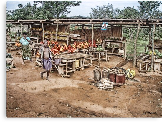 Ugandan Market by Jane Smith