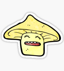 toadstool cartoon  Sticker