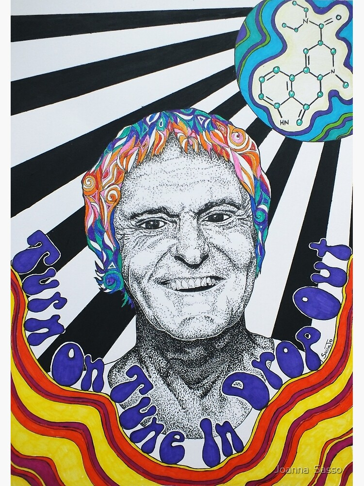 Timothy Leary by SassoJo
