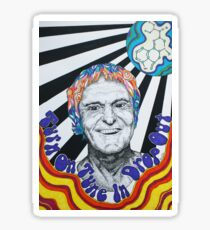Timothy Leary Sticker