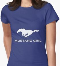 Mustang Girl Women's Fitted T-Shirt