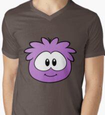 Purple Fluffle Men's V-Neck T-Shirt
