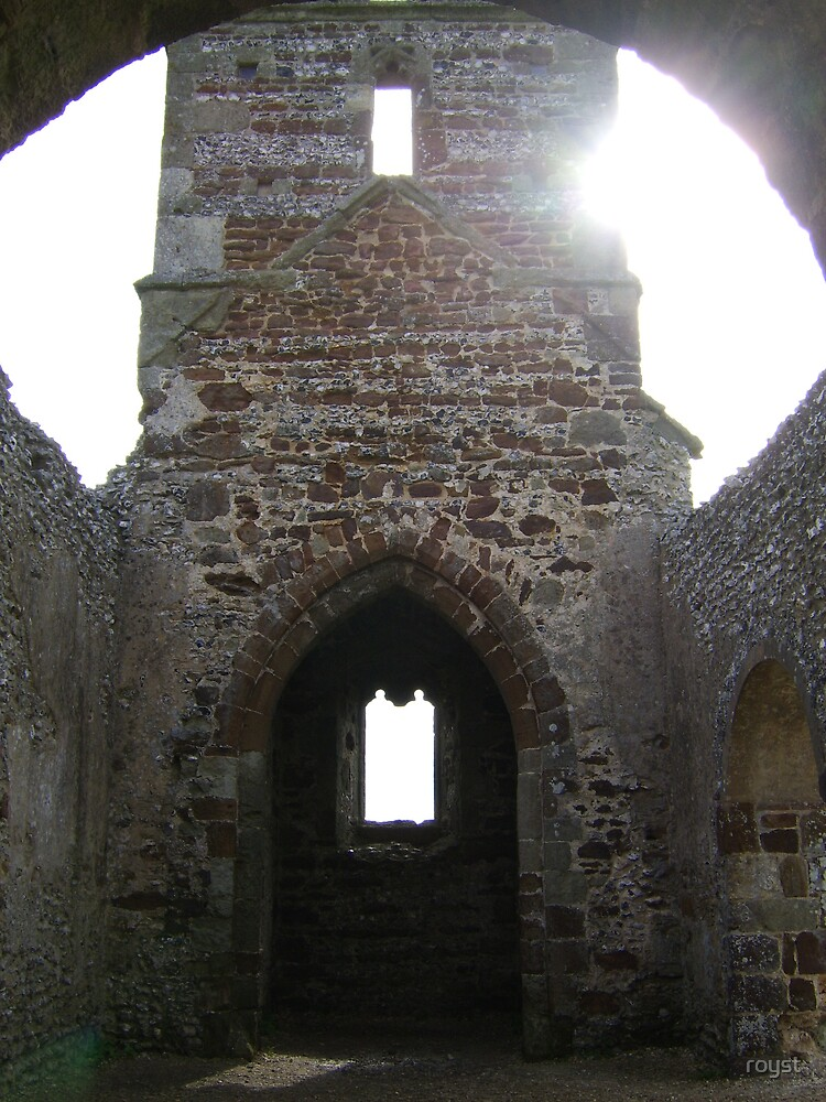 Church ruin by royst