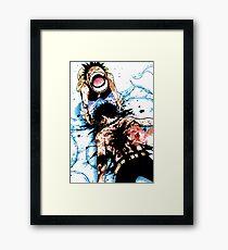 ACE DEATH Framed Print