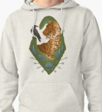 TIGER AND THE CROW - BRIGHT Pullover Hoodie
