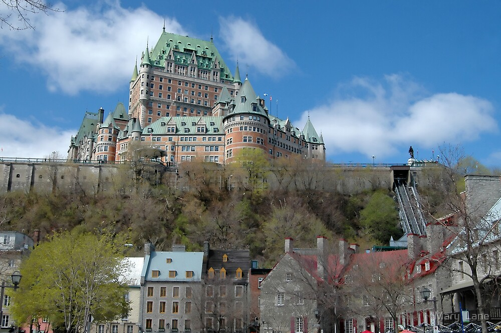 Quebec City by Mary  Lane