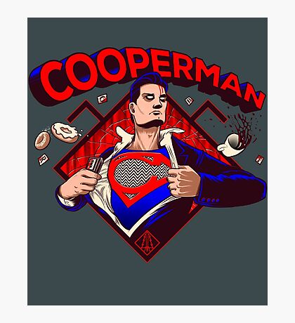 Cooperman Returns Photographic Print