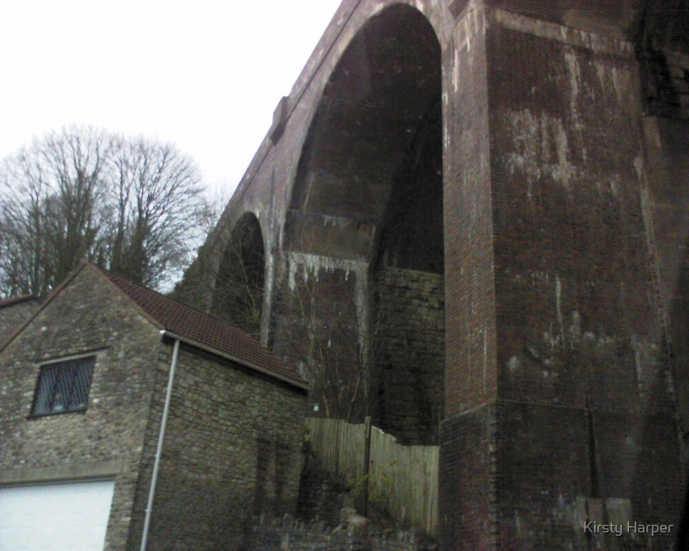 Viaduct in Somerset by Kirsty Harper