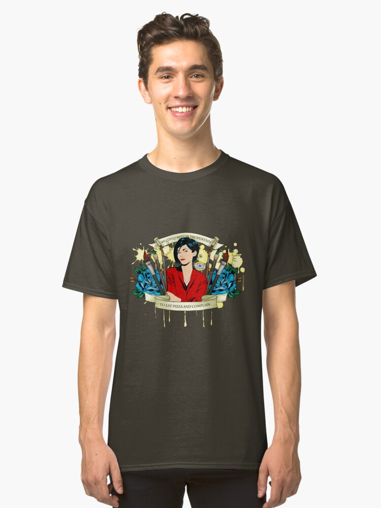 Alternate view of Jane Lane - Weekends Pizza Classic T-Shirt