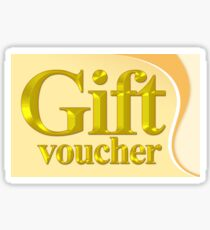 Gift voucher  Sticker