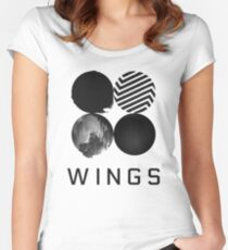 BTS Wings 2 Women's Fitted Scoop T-Shirt