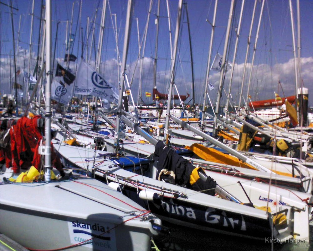 Cowes Week Yachts 2006 by Kirsty Harper