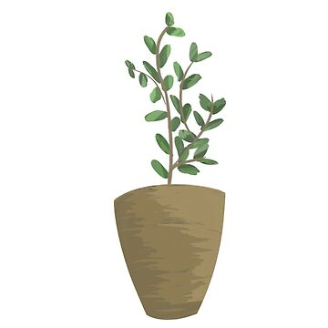 Potted Tall Plant by Vulpies