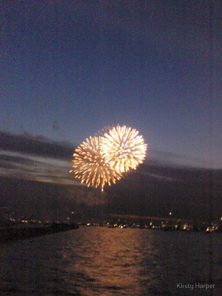 Cowes week 2006 fireworks. by Kirsty Harper