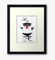 Stay Puft - Fade to Pale Framed Print