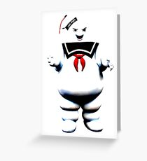 Stay Puft - Fade to Pale Greeting Card