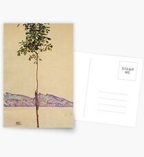 Egon Schiele - Little Tree Chestnut Tree At Lake Constance 1912 Postcards