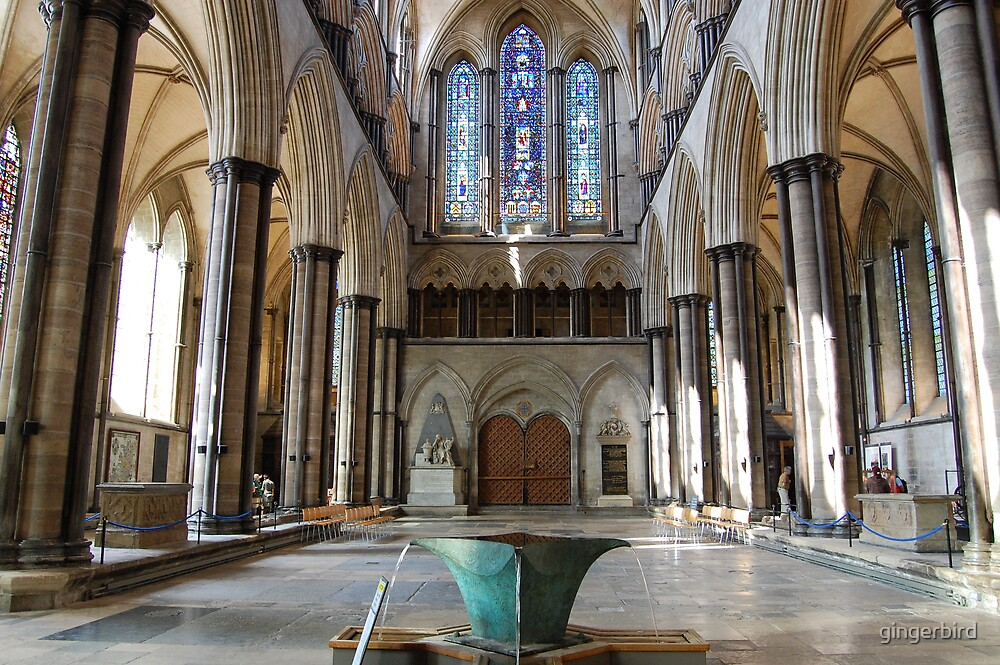 Salisbury Cathedral 3 by gingerbird