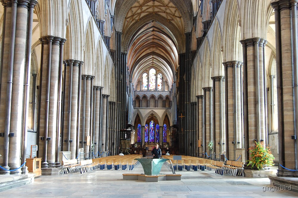 Salisbury Cathedral 4 by gingerbird