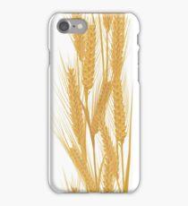 Ears of wheat vertical pattern iPhone Case/Skin