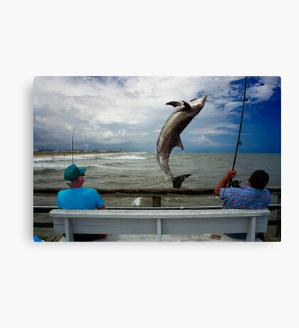 Big Fishing Canvas Print