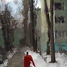 down green alley by Nikolay Semyonov