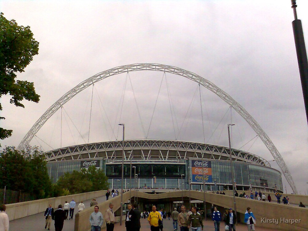Wembley Stadium by Kirsty Harper
