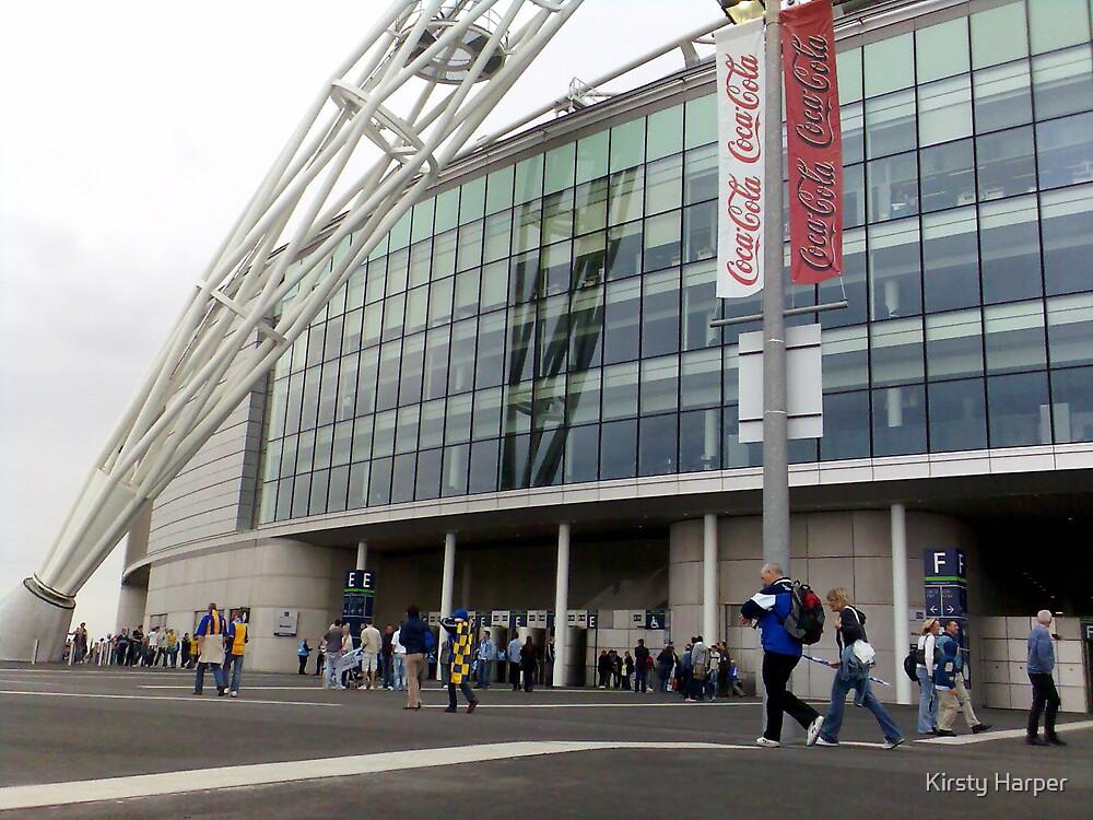 Wembley Stadium by Kirsty Harper