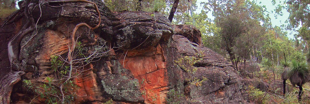 Sandstone Outcrop 2 by jkp07