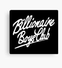 billionaire boys club 2 Canvas Print