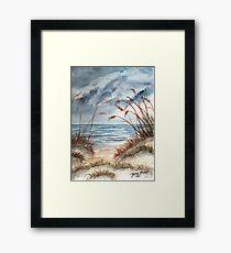 Beach 3 Framed Print
