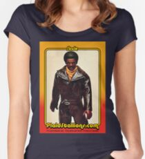 Shindana Slade Action Figure Fitted Scoop T-Shirt