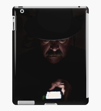 Checking Status iPad Case/Skin
