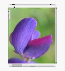 Purple Lupin Close Up iPad Case/Skin