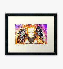 Most powerful ninja !! Framed Print
