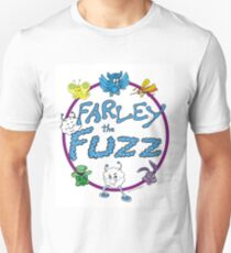 Farley the Fuzz -circle design T-Shirt