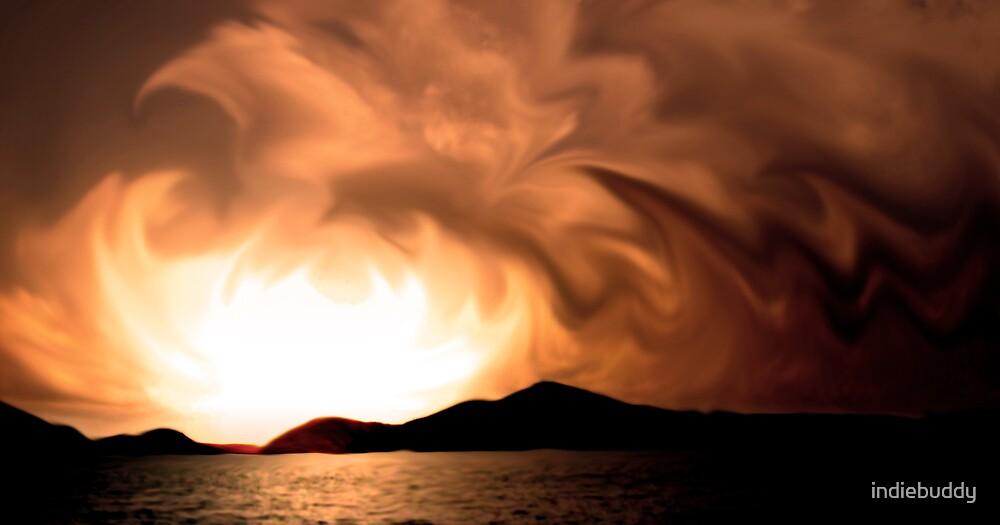 Orange Sky by indiebuddy