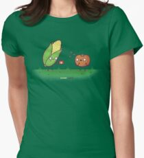 Sweet Corn Women's Fitted T-Shirt
