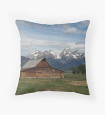 Homesteader Barn Throw Pillow
