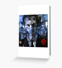 Moriarty Collage Greeting Card