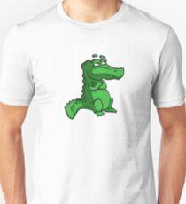 Cartoon Alligator T-Shirt Unisex T-Shirt