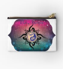 East West Astrology Aries-Dragon Studio Pouch